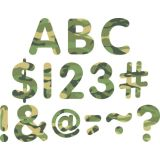 Camouflage Classic 2 Uppercase Letters
