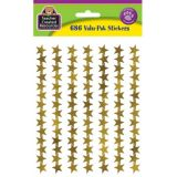 Gold Foil Stars Stickers Value-Pack