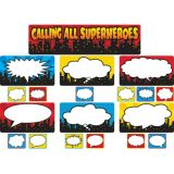 Calling All Super Heroes Mini Bulletin Board
