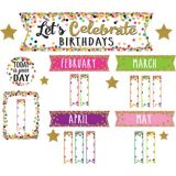 Confet Let's Celebrate Birthdays Mini Bulletin Board