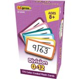 Division Flash Cards All Facts 0-12