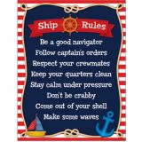 Ship Rules Nautical Chart