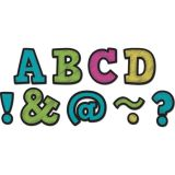 Chalkboard Brights Bold Block 2 Magnetic Letters