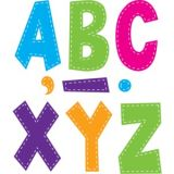 Multi Bright Stitch 7 Fun Font Letters