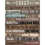 Today Is .... Reclaimed Wood Poster