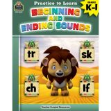 Practice to Learn: Beginning And Ending Sounds K-1