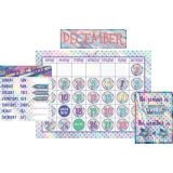 Iridescent Calendar Bulletin Board Display