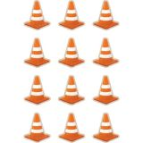 Under Construction Cones Mini Accents
