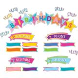 Colorful Vibes Birthdays Mini Bulletin Board