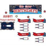 Nautical Crew Birthdays Mini Bulletin Board