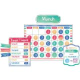 Calender Watercolor Bulletin Board Set