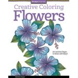 Creative Colouring Flowers Book