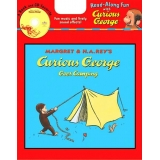Book and CD- Curious George Goes Camping