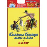 Book and CD- Curious George Rides a Bike