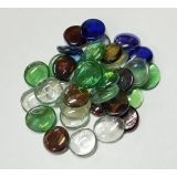 Multi Colour Glass Pebbles 500g