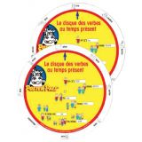 6 French Verb Wheels - Set of 10