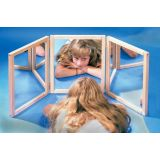Framed Regular Mirror 3 Section Folding