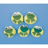 5-Character Mitt Sets - 5 Speckled Frogs