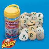 Alphabet Pebbles Uppercase Set (26 Pieces)