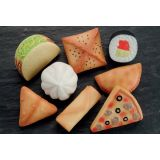 Foods of the World Sensory Stones 8PC
