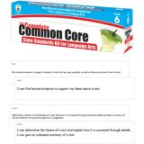 Common Core State Standards Kit for 6th Grade Language Arts