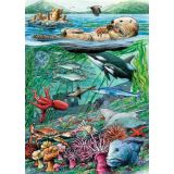 Life On the Pacific Ocean Tray Puzzle