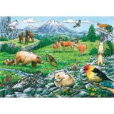 Rocky Mountain Wildlife Tray Puzzle