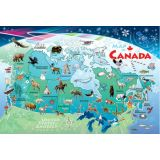 Map of Canada Tray Puzzle