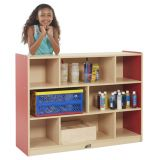 Colorful Essentials 36H Storage Cabinet - 8 Comp