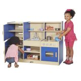 Colorful Essentials 4 in 1 Play Kitchen