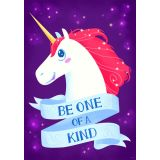 Be one of a kind! Unicorn  Inspire U Poster