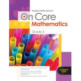 On-Core Math Grade 3 Student Workbook