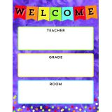 Celebrate Learning Welcome Chart