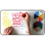 PRIMO Triangle Crayons, 12 Piece Case