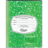 Penmanship Cursive Notebook, 9.75 x 7.5- 1st Grade, Green, 50 Sheets