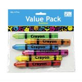 Crayon Bubble Bottles 3 1/2, 36/Pack
