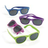 Plastic Dot Sunglasses, 24/Pack