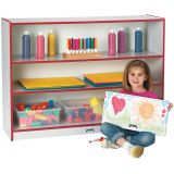 Rainbow Accents® Super-Sized Adjustable Bookcase - Navy