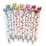 Heart Mechanical Pencils, 12/Pack