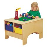 Jonti-Craft® KYDZ Building Table - Duplo® Compatible - without Tubs