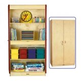 Deluxe Classroom Closet with Adjustable Shelves
