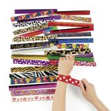 Metal Slap Bracelet Assortment, 50/Pack