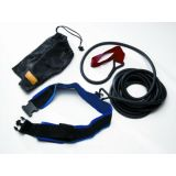 Training Leash, Red Heavy Resistance