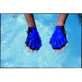 All-Neoprene Fingerless Force Gloves, Large
