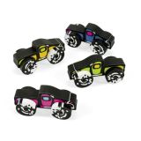 Monster Truck Movable Erasers, 12/Pack