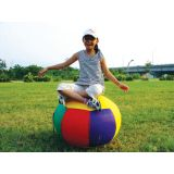 Balance Ball, 30W x 20H Inflated, Multi-Colored