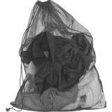 Small Mesh All Purpose Bags with drawstring. 24 x 36, black