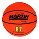 Basketball-Mini, 7 diameter, rubber, nylon wound, orange