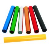 Batons, aluminum, official size and weight, 6-pk, black
