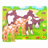 Chunky Puzzle - Mum & Baby Cow
